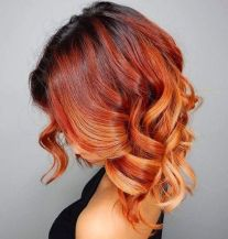 Beautiful curly layered haircut style ideas 56