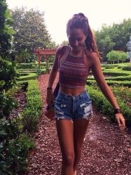 Best high waisted short denim outfits style 56