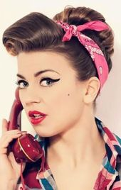 Breathtaking vintage rockabilly hairstyle ideas 102
