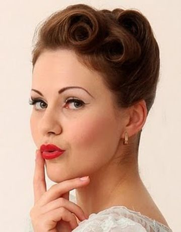 Breathtaking vintage rockabilly hairstyle ideas 16