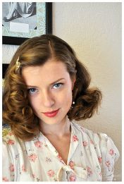 Breathtaking vintage rockabilly hairstyle ideas 17
