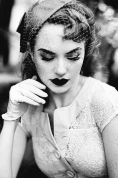 Breathtaking vintage rockabilly hairstyle ideas 4