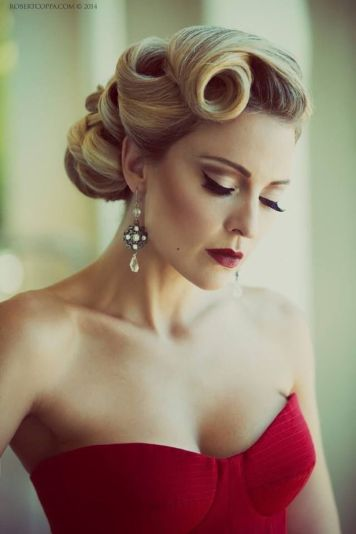 Breathtaking vintage rockabilly hairstyle ideas 48