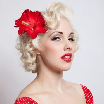 Breathtaking vintage rockabilly hairstyle ideas 57