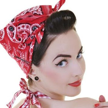 Breathtaking vintage rockabilly hairstyle ideas 71