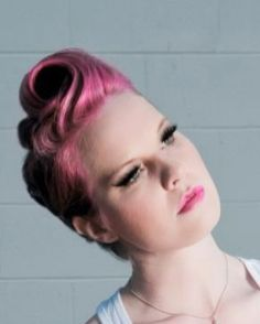 Breathtaking vintage rockabilly hairstyle ideas 97