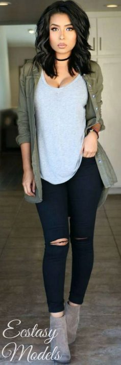 Casual fall fashions trend inspirations 2017 18