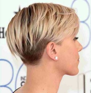 Cool back view undercut pixie haircut hairstyle ideas 39