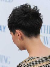 Cool back view undercut pixie haircut hairstyle ideas 46