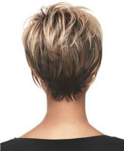 Cool back view undercut pixie haircut hairstyle ideas 6