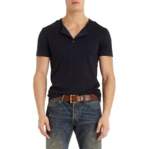 Cool casual men plain t shirt outfits ideas 10