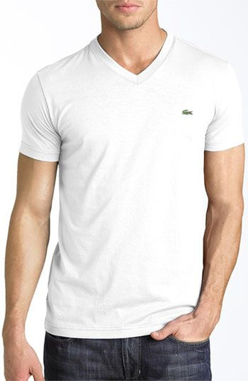 Cool casual men plain t shirt outfits ideas 27