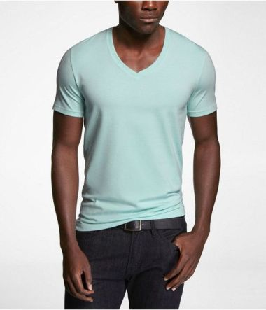 Cool casual men plain t shirt outfits ideas 29