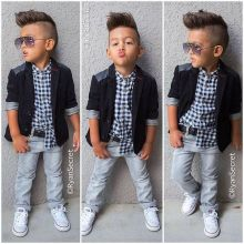 Cool kids & boys mohawk haircut hairstyle ideas 16