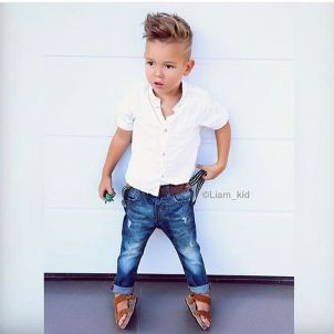 Cool kids & boys mohawk haircut hairstyle ideas 19