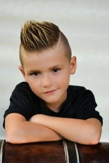 Cool kids & boys mohawk haircut hairstyle ideas 28
