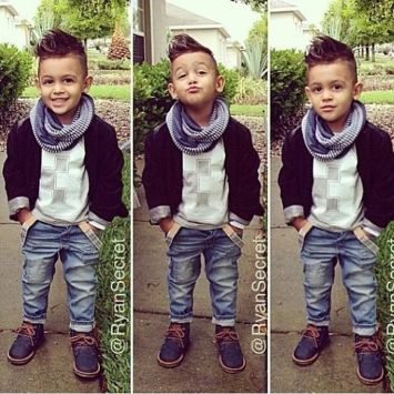 Cool kids & boys mohawk haircut hairstyle ideas 35