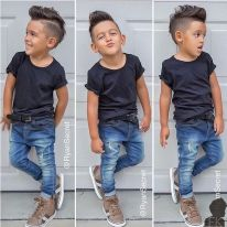 Cool kids & boys mohawk haircut hairstyle ideas 39