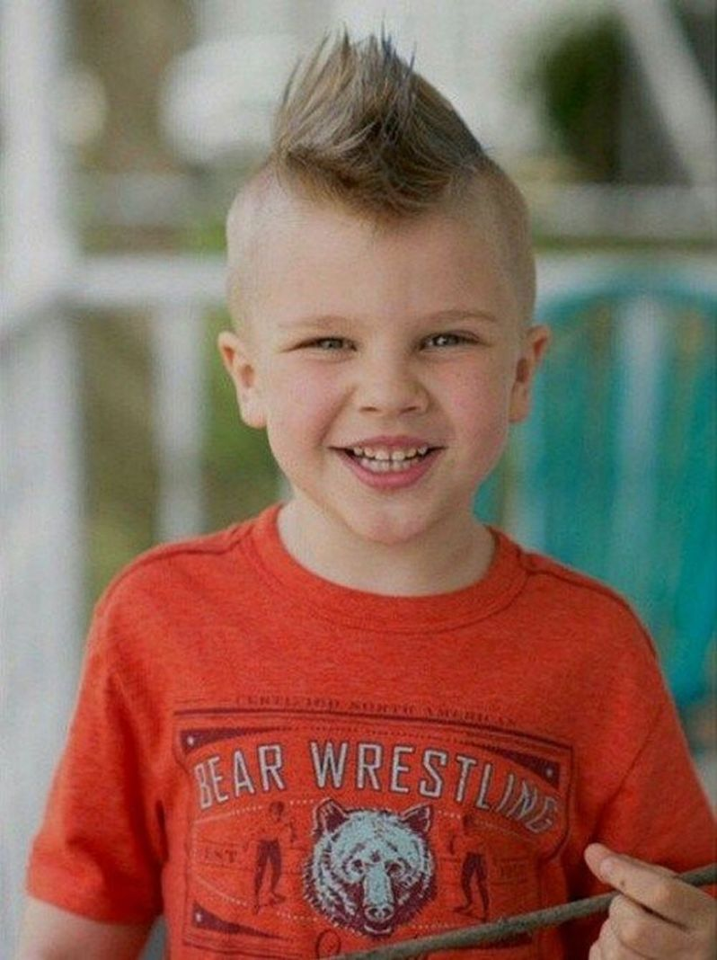 60 Awesome Cool Kids and Boys Mohawk Haircut Ideas - Fashion ...