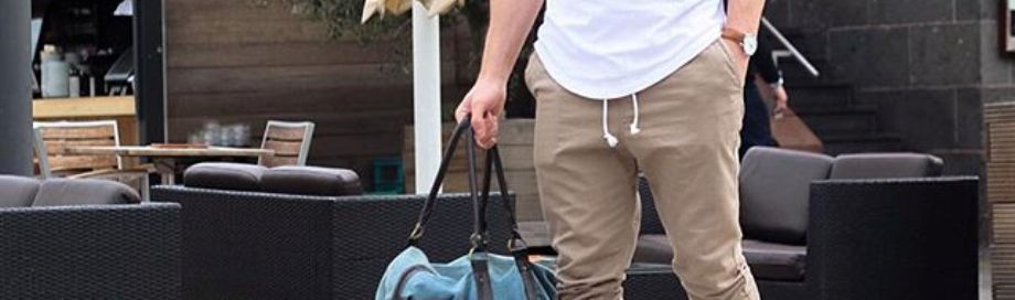 Cool men jogger outfit featured