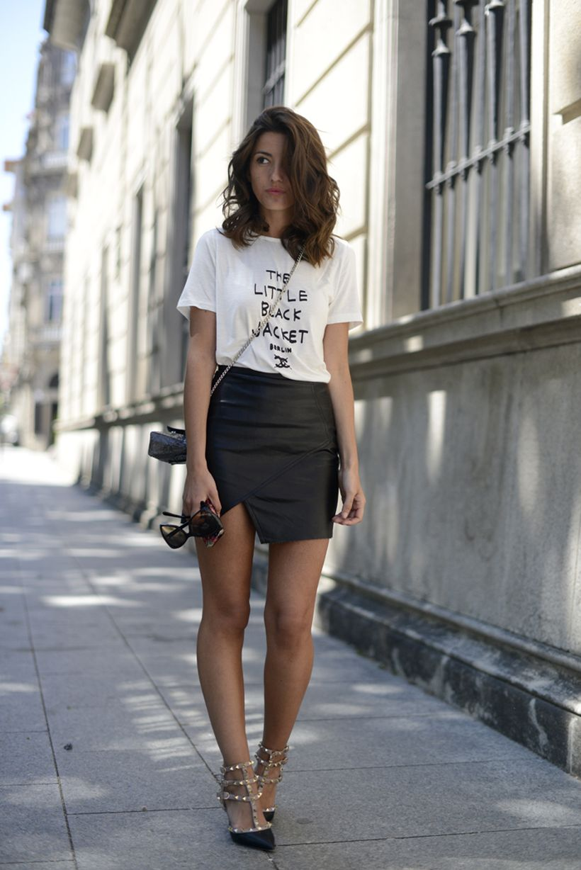 Cool tshirt and skirt for everyday outfits 1