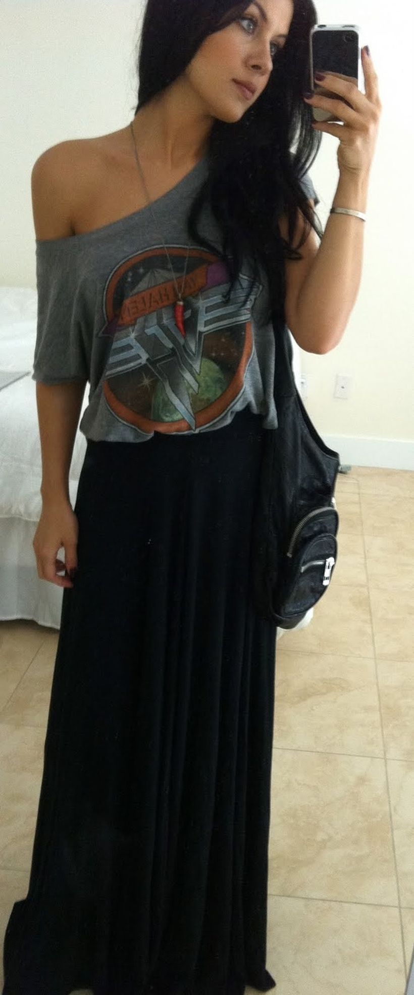 Cool tshirt and skirt for everyday outfits 15