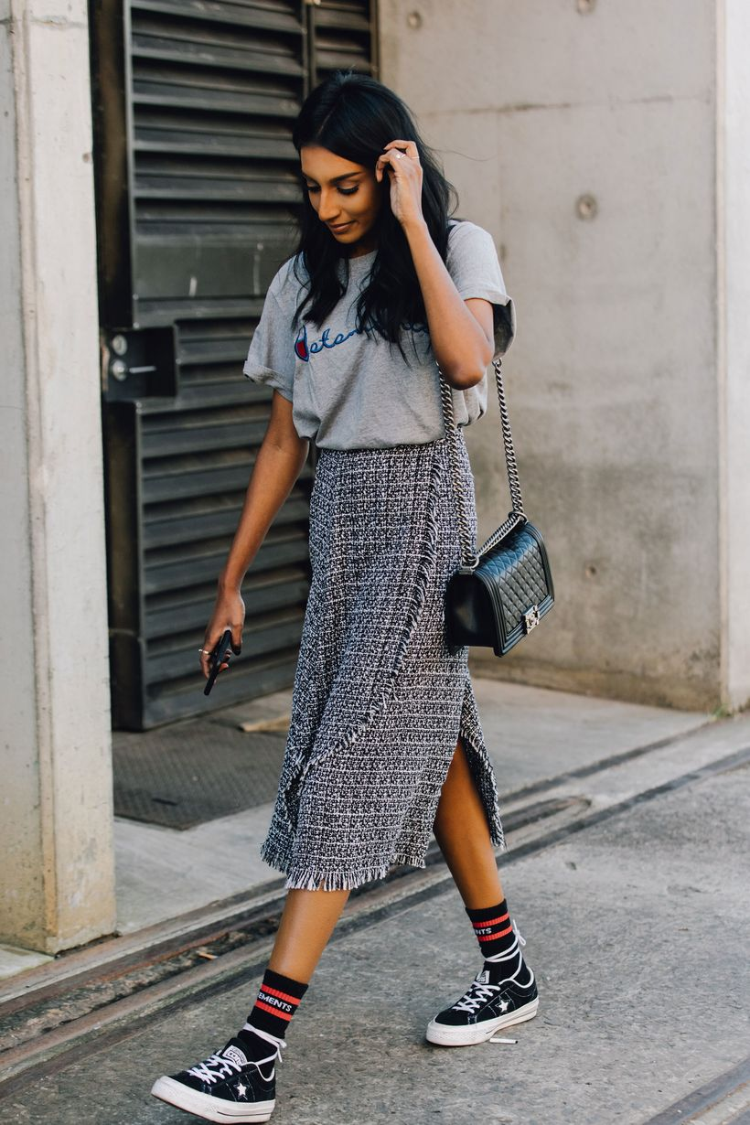 Cool tshirt and skirt for everyday outfits 2