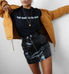 Cool tshirt and skirt for everyday outfits 21