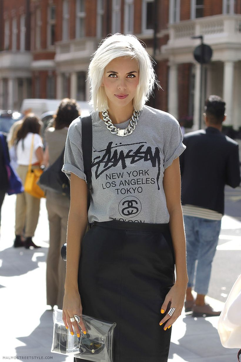 Cool tshirt and skirt for everyday outfits 27