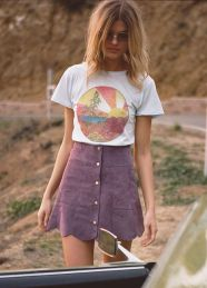 Cool tshirt and skirt for everyday outfits 29