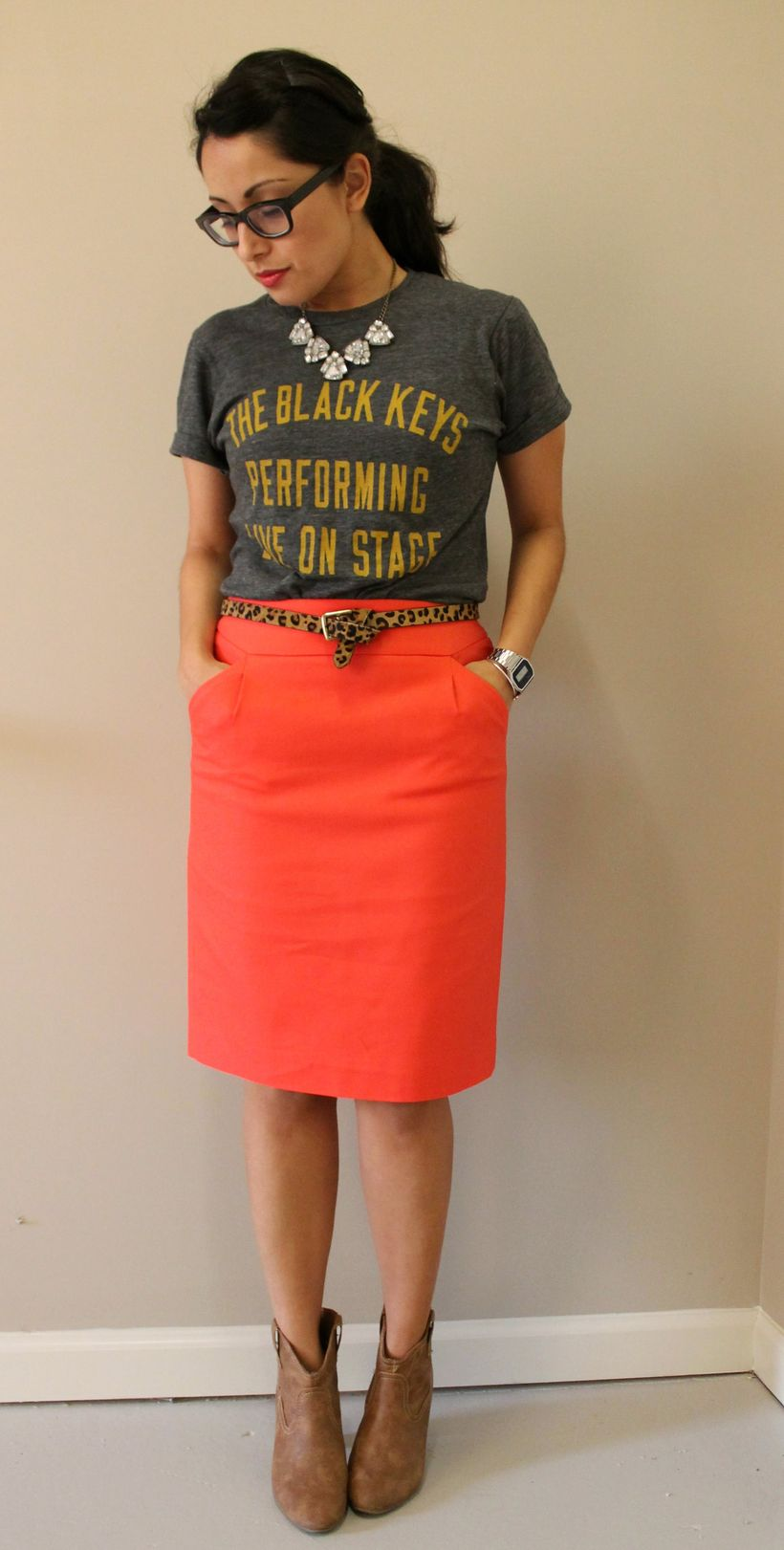 Cool tshirt and skirt for everyday outfits 36