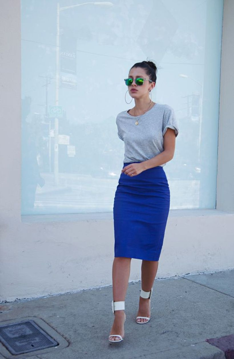 Cool tshirt and skirt for everyday outfits 46