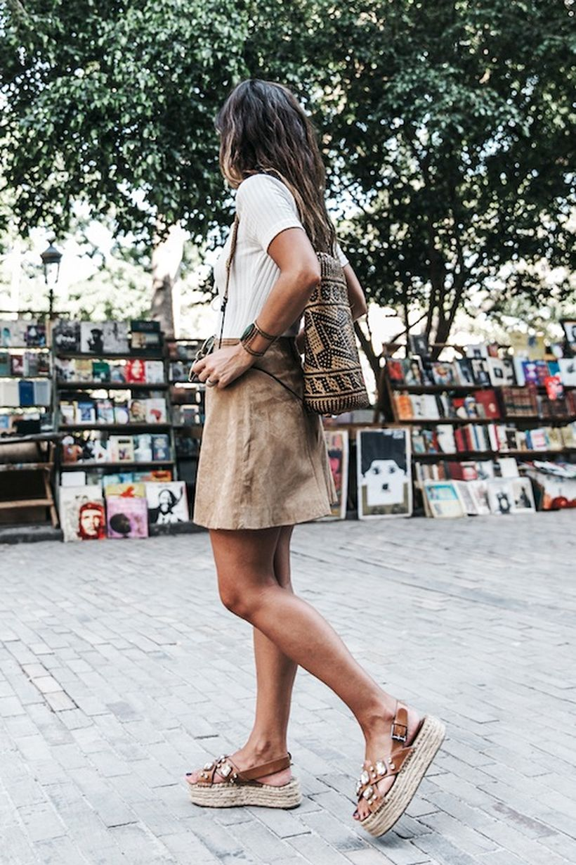 Cool tshirt and skirt for everyday outfits 51