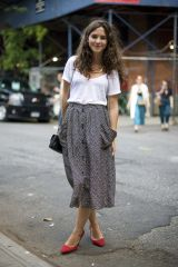 Cool tshirt and skirt for everyday outfits 53