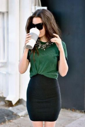 Cool tshirt and skirt for everyday outfits 7