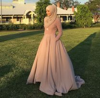 Elegant muslim outift ideas for eid mubarak 14