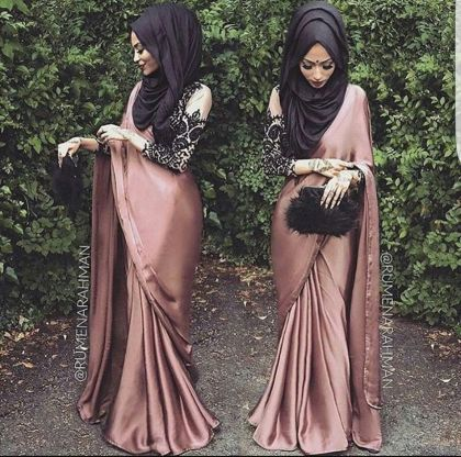 Elegant muslim outift ideas for eid mubarak 2