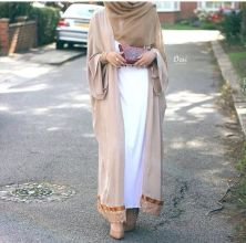 Elegant muslim outift ideas for eid mubarak 28