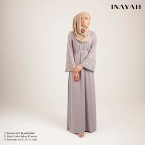 Elegant muslim outift ideas for eid mubarak 37