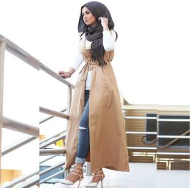 Elegant muslim outift ideas for eid mubarak 47