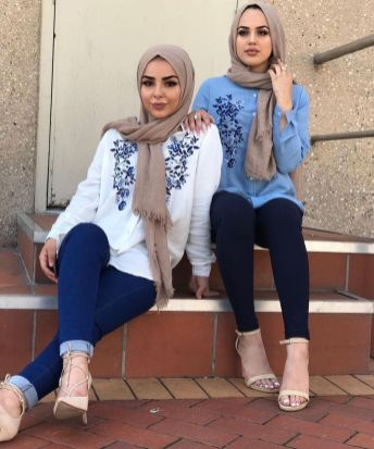 Elegant muslim outift ideas for eid mubarak 50