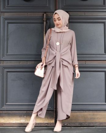 Elegant muslim outift ideas for eid mubarak 60