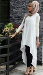 Elegant muslim outift ideas for eid mubarak 62