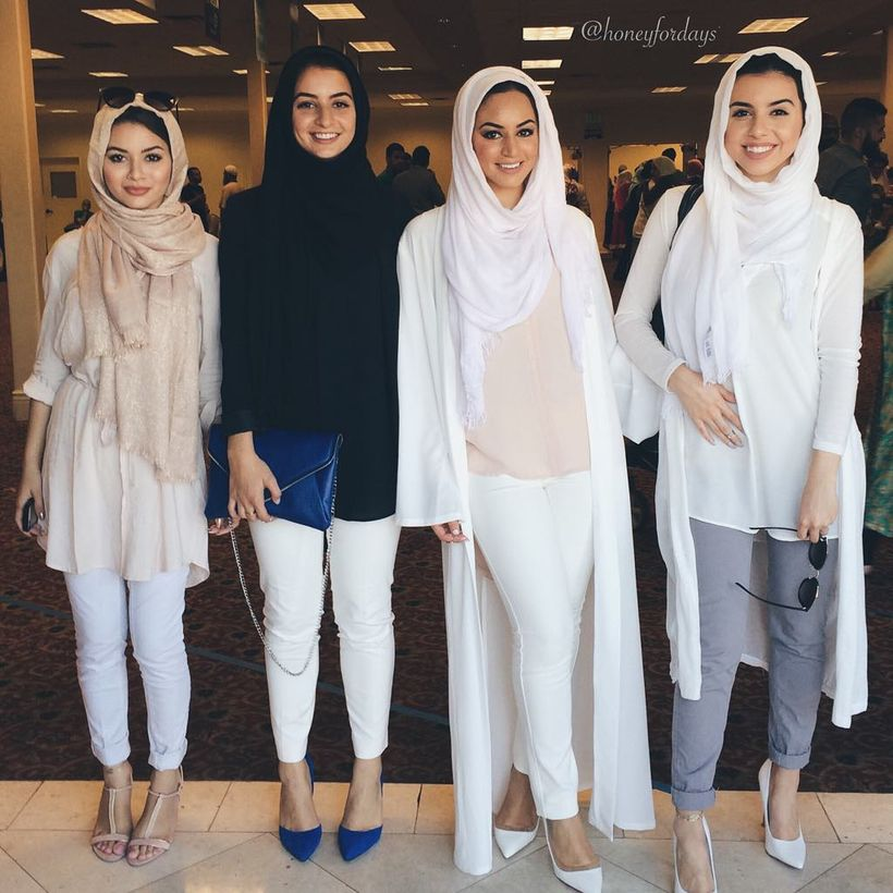 Elegant muslim outift ideas for eid mubarak 8