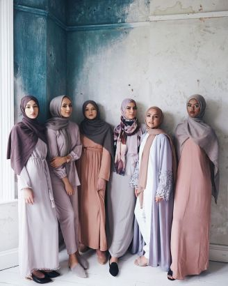 Elegant muslim outift ideas for eid mubarak 81