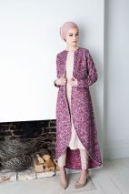 Elegant muslim outift ideas for eid mubarak 84