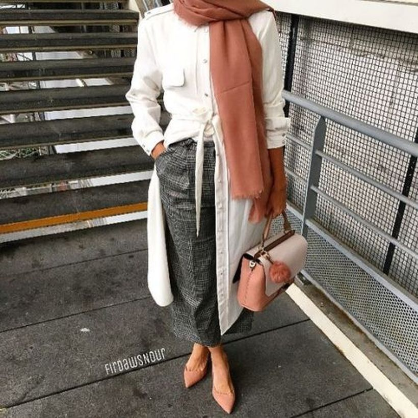 Elegant muslim outift ideas for eid mubarak 85