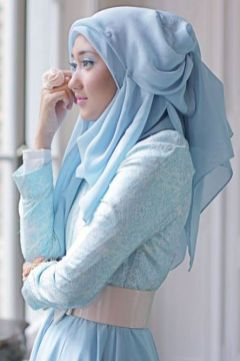Elegant muslim outift ideas for eid mubarak 86