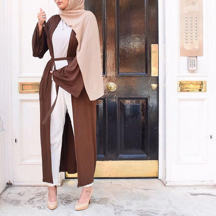 Elegant muslim outift ideas for eid mubarak 87