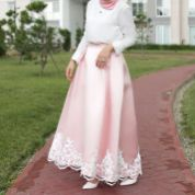 Elegant muslim outift ideas for eid mubarak 88